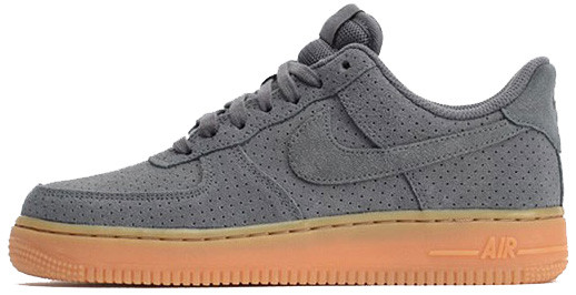 Мужские кроссовки Nike Air Force 1 Grey, Найк Аир Форс