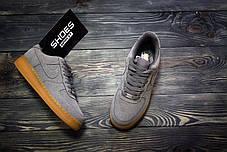 Мужские кроссовки Nike Air Force 1 Grey, Найк Аир Форс, фото 3