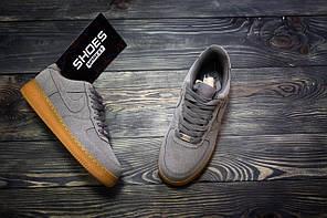 Мужские кроссовки Nike Air Force 1 Grey, Найк Аир Форс, фото 2