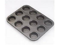 Форма для выпечки кексов 12шт/лист 35*26,5*3см, MН-0506