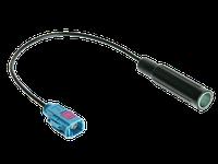 Переходник антенный VW,Skoda,Seat,Audi-DIN (под штатную) длинный прямой 2002->