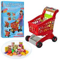 Детская игрушечная Тележка 08059 B, звук и свет