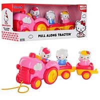 Красочный трактор Hello Kitty 65003 UB01 Unimax каталка