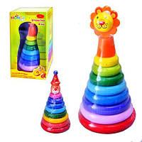 Деревянная игрушка Пирамидка MD 0097