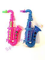 Саксофон детский музыкальный на батарейках