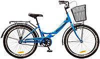 """Велосипед 24"""" Formula SMART 14G рама-15"""" St с корзиной 2017  синий (OPS-FR-24-071 )"""