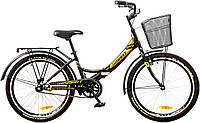 """Велосипед 24"""" Formula SMART 14G рама-15"""" St с корзиной 2017 черно-оранжевый (OPS-FR-24-072 )"""