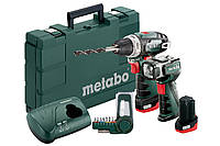 Аккумуляторная дрель-шуруповерт Metabo PowerMaxx BS Basic (набор), 600080530