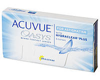 Acuvue Oasys for Astigmatism | Торические линзы (6 шт.) -1.75, 160, +1.00