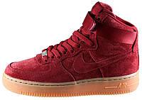 Мужские кроссовки Nike Air Force 1 High Red