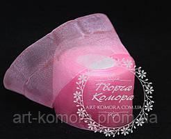 Органза розовая, 5 см