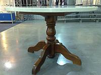 Нога для стола, деревянная нога В-1