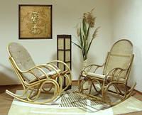 """Кресло качалка """"Бриз"""" для отдыха из ротанга"""