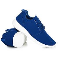 Женские кроссовки синие для фитнеса (беговые)