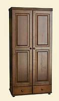 Распашной шкаф из натуральной древесины мебельной фабрики Скиф. Модель ШФ-3