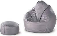 Кресло- груша + пуф цилиндр