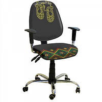 Кресло компьютерное Бридж хром
