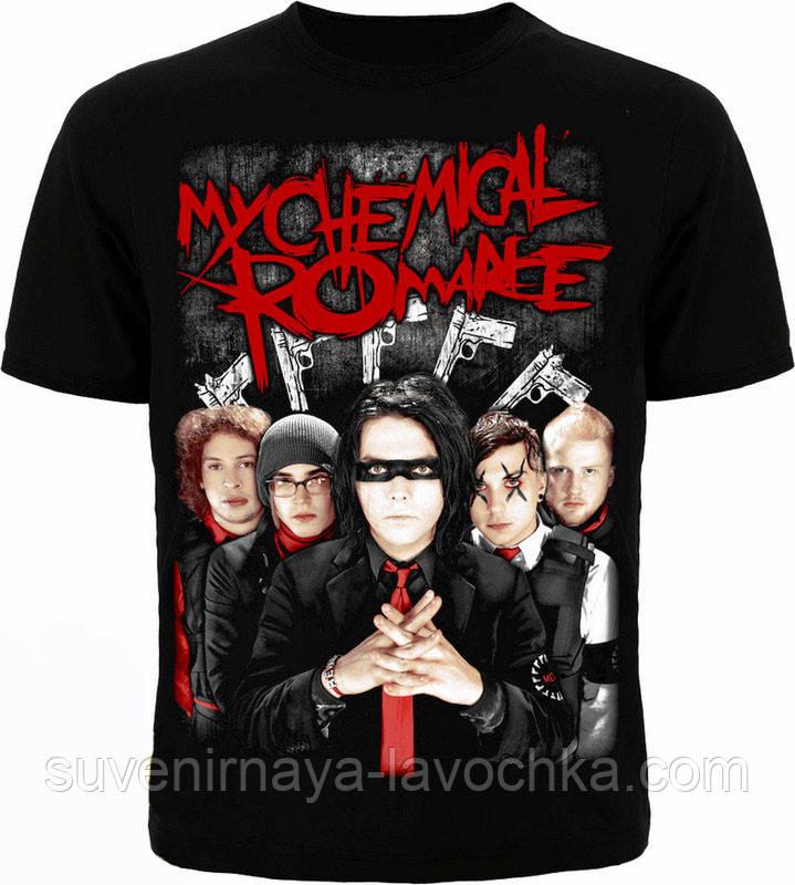 Рок футболка My chemical romance