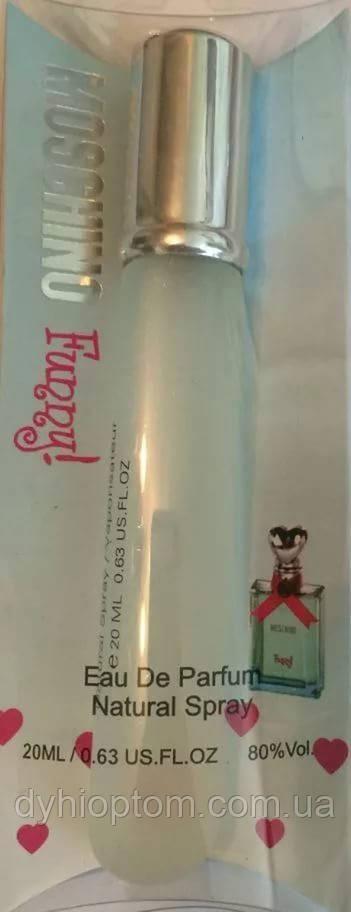 Реплика брендового мини парфюма Moschino Funny Woman 20ml оптом
