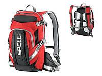 Вело рюкзак Spelli SBP-059 красный 20л.