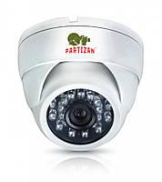 Купольная 1мп AHD камера Partizan CDM-223S-IR HD KIT