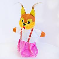 Игрушка рукавичка (кукольный театр) Белка