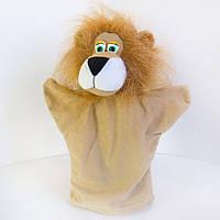 Игрушка рукавичка (кукольный театр) Лев