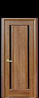 """Двери межкомнатные """"Новый Стиль Луиза BLK"""" золотая ольха"""