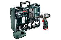 Аккумуляторная дрель-шуруповерт Metabo PowerMaxx BS Mobile Workshop (набор), 600079880