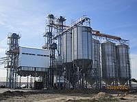 Зернохранилище (силос) с конусным днищем