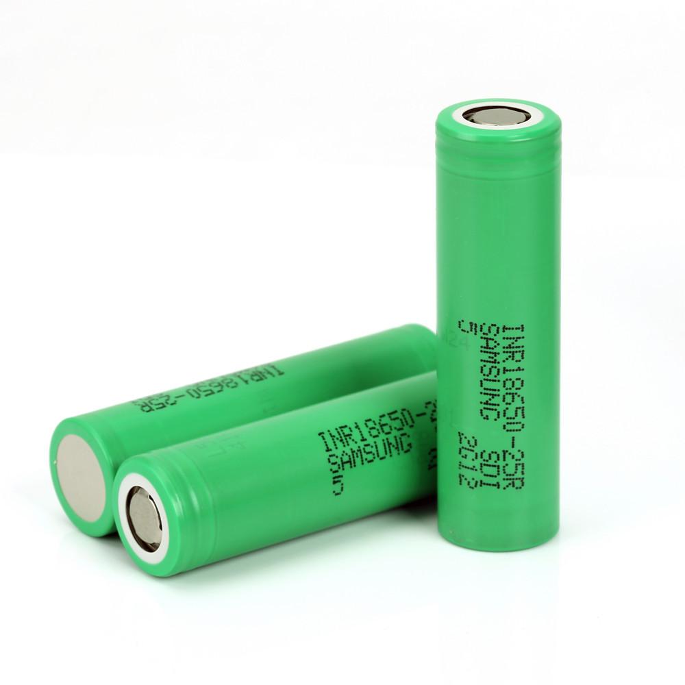 Аккумулятор Samsung 25R 2500mah 20А INR 18650