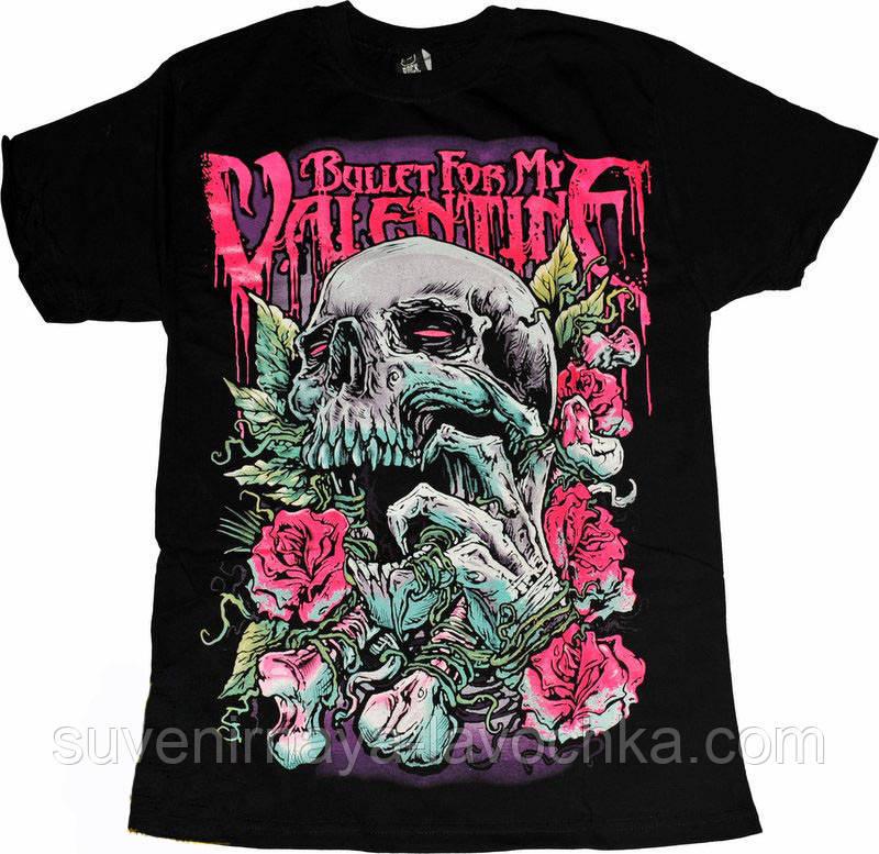 Рок футболка Bullet For My Valentine ( Love Skull)