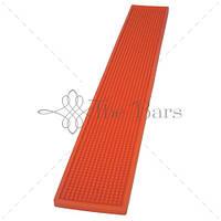 Барний килимок 70х10 см, колір помаранчевий