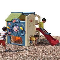 """Детский игровой комплекс с домиком """"NEIGHBORHOOD FUN CENTER"""", 147х213х161 см"""