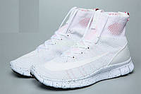 Кроссовки Nike Free Flyknit Mercurial white