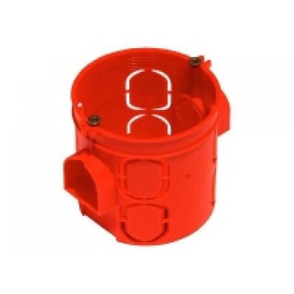 Глибокий підрозетник (негорючий) червоний (016) (100), фото 2