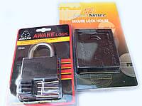 Навесной замок + Защитный протектор для навесного замка