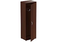 МГ-901 Шкаф для одежды (600х420х1844мм) орех темный