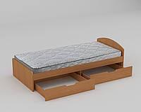 Ліжко односпальне ДСП 90+2 / КОМПАНІТ