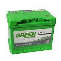 Аккумулятор Green Power 6СТ-60Ач/540А(EN) (-/+)