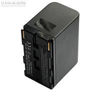 Аккумулятор для видеокамеры Canon BP-950/BP-950G, 7200-7800 mAh.