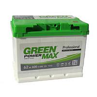 Аккумулятор Green Power Max 6СТ-62Ач/600А(EN) (-/+)