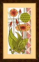 ВТ-119 Набор для вышивания крестом Crystal Art Целебные травы