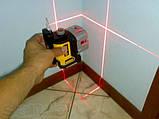 Лазер самовыравнивающийся 3-х плоскостной (гориз+верт+бок) DeWALT DW089K (США/Китай), фото 3