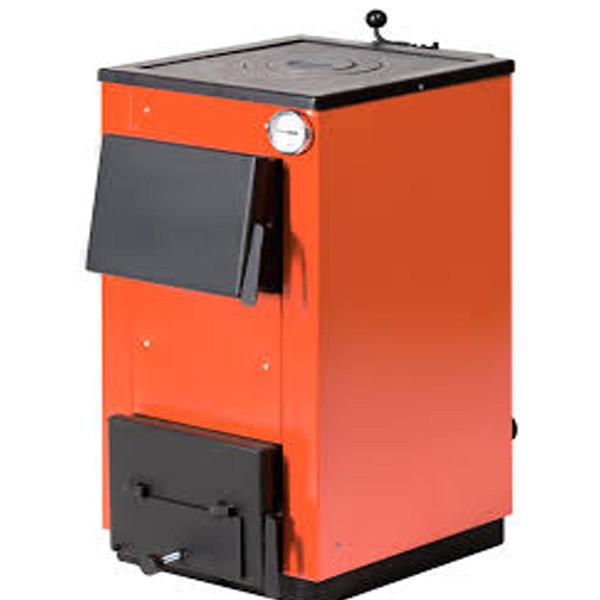 Твердотопливный котел Макситерм 12П (Оранжевый) - OptMan - самые низкие цены в Украине в Харькове