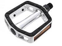 Педали WellGo SBP-016 с резиновой накладкой, широкая площадка