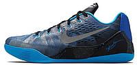 Баскетбольные кроссовки Nike Zoom Kobe 9 (найк зум) синие