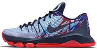 Баскетбольные кроссовки NikeKD 8 (Kevin Durant, найк кевин дюрант) синие