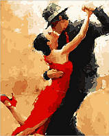 Картина по номерам MR-Q158 Магия танго (40 х 50 см) Mariposa