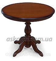 Стол деревянный круглый Тироль